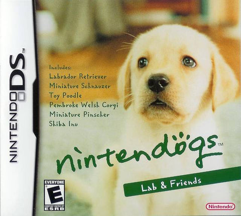 Nintendogs: Lab and Friends - DS