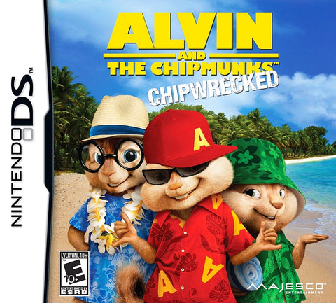 Alvin and the Chipmunks: Chipwrecked - DS