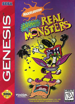 Aaahh! Real Monsters - Genesis