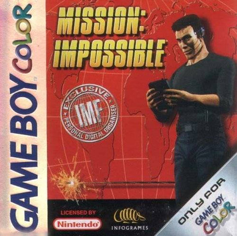Mission Impossible - Gameboy Color