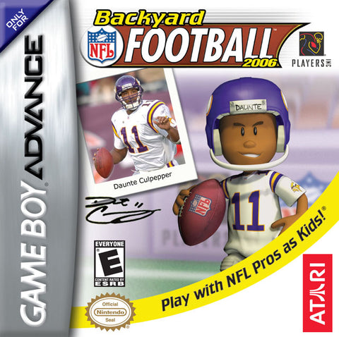 Backyard Football 2006 - Gameboy Advance