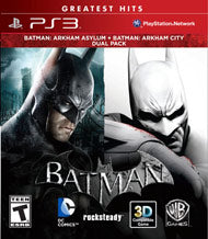 Batman Arkham Asylum & Arkham City Dual Pack - Pre-Owned Playstation 3