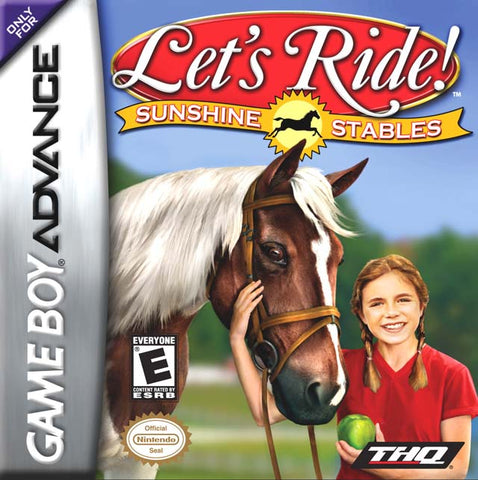 Let's Ride Sunshine Stables - Gameboy Advance