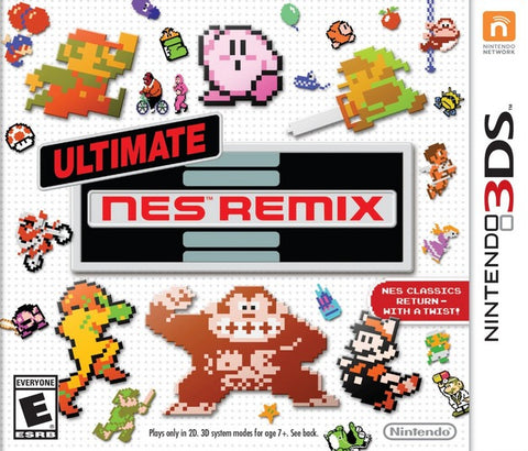 Ultimate NES Remix - Pre-Owned 3DS