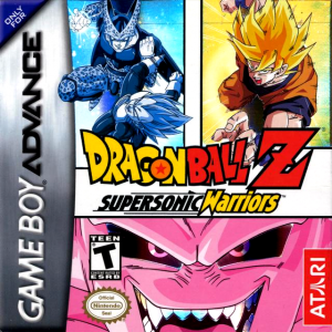 Dragonball Z Supersonic Warriors - GBA