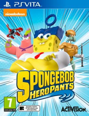 Spongebob Heropants - Playstation Vita
