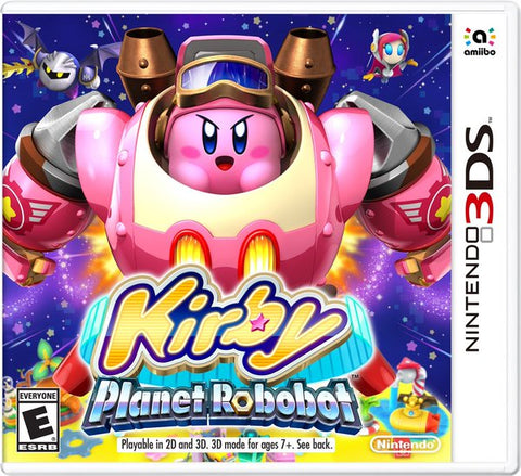Kirby: Planet Robobot - Pre-Owned 3DS