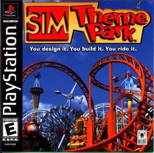Sim Theme Park - Playstation