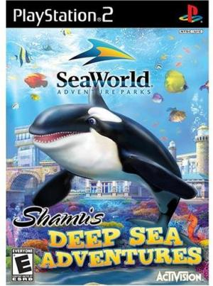 Shamu's Deep Sea Adventure - Playstation 2