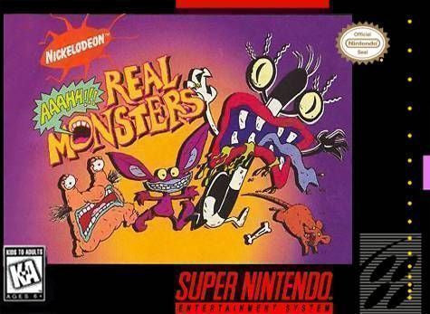 AAAHH!!! Real Monsters - SNES