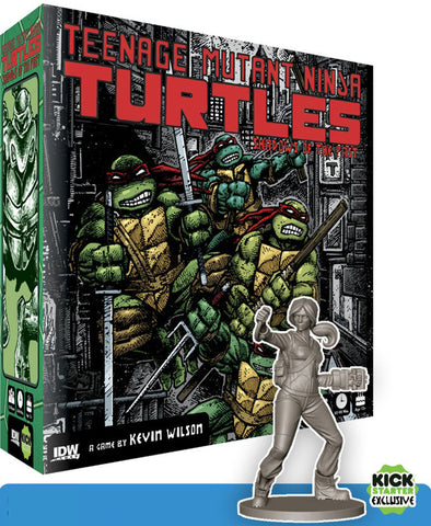 Teenage Mutant Ninja Turtles: Shadows of the Past - Kickstarter Edition