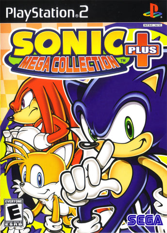 Sonic Mega Collection Plus - Playstation 2