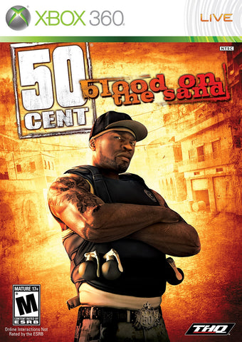 50 Cent: Blood on the Sand - Pre-Owned Xbox 360