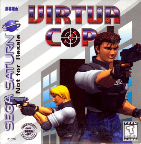 Virtua Cop - Saturn