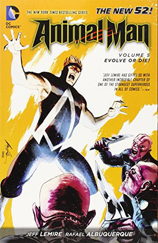 Animal Man (New 52) Volume 5: Evolve or Die! - Discount Graphic Novel