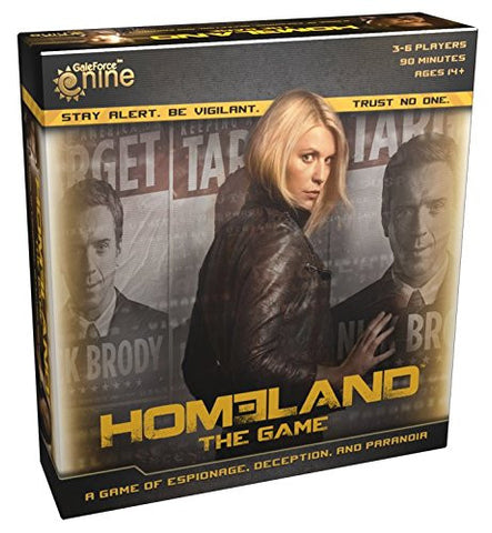 Homeland The Game - Board Game