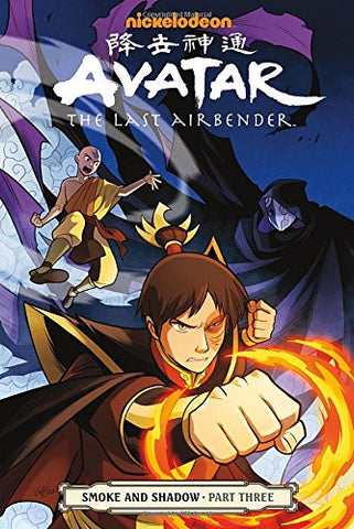 Avatar Last Airbender Volume 12: Smoke and Shadow Part 3