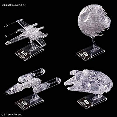 "Return of the Jedi Clear Vehicle Set ""Star Wars"", Bandai Spirits VM"