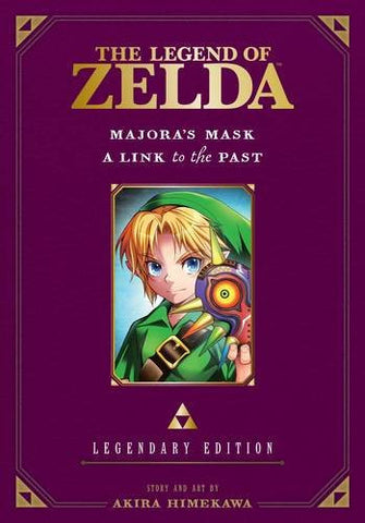 Legend of Zelda Legendary Edition Volume 3: Majora's Mask and A Link to the Past