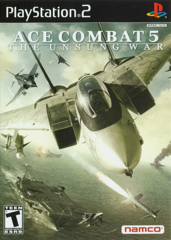 Ace Combat 5: The Unsung War - Playstation 2