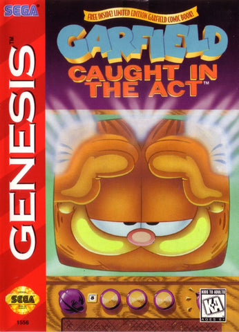 Garfield: Caught in the Act - Genesis