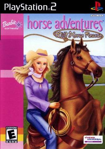 Barbie Horse Adventures: Wild Horse Rescue - Playstation 2