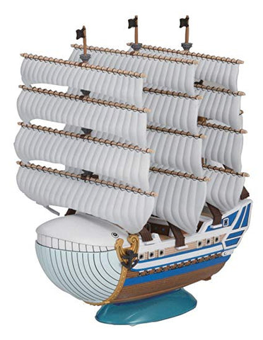 05 Moby Dick Model Ship, Bandai One Piece Grand Ship Collection