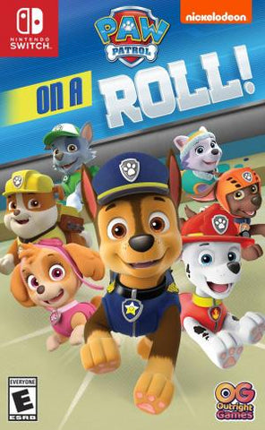 Paw Patrol On A Roll - Pre-Owned Switch