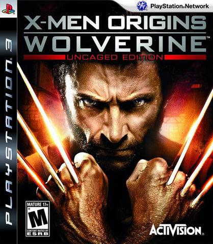 X-Men Origins: Wolverine - Playstation 3