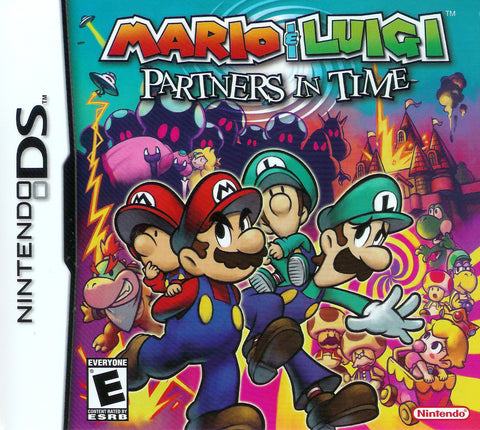Mario and Luigi: Partners in Time - DS