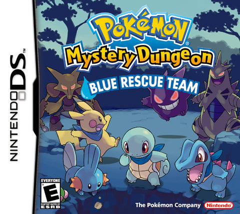 Pokemon Mystery Dungeon: Blue Rescue Team - DS