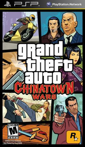 Grand Theft Auto: Chinatown Wars - PSP