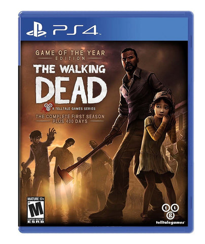 Walking Dead: Complete First Season - Pre-Owned Playstation 4
