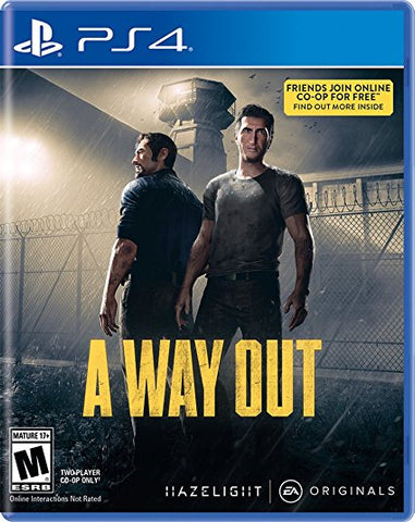 A Way Out - Pre-Owned Playstation 4