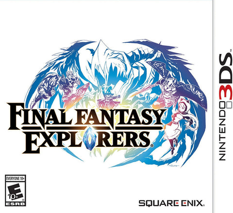 Final Fantasy Explorers - Pre-Owned 3DS
