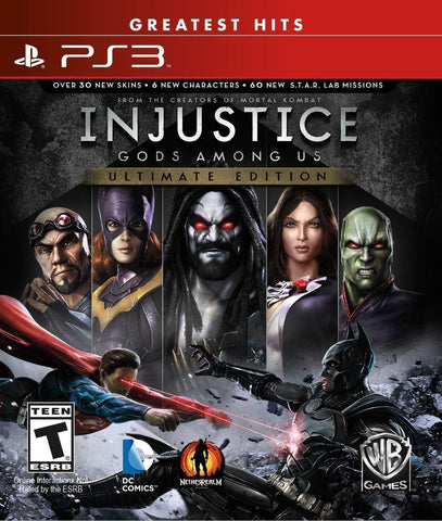 Injustice: Gods Among Us Ultimate Edition - Pre-Owned Playstation 3