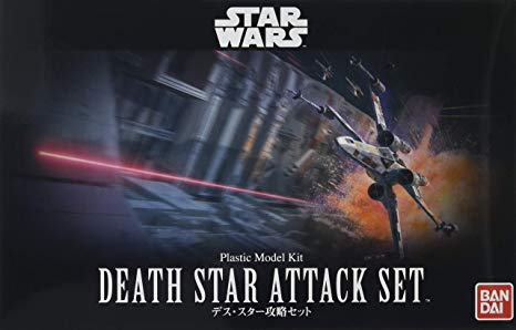 "Death Star Attack Set ""Star Wars"" Bandai Star Wars 1/144"