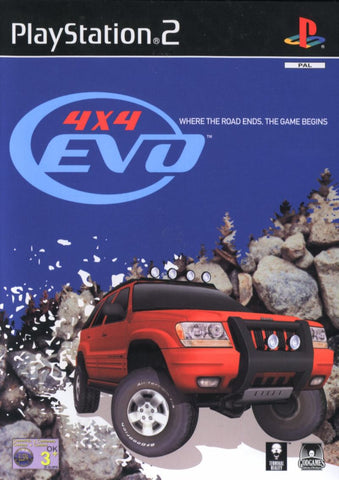 4x4 EVO - PlayStation 2