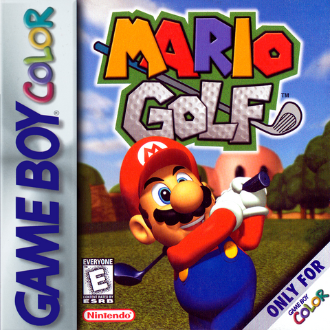 Mario Golf - Gameboy Color