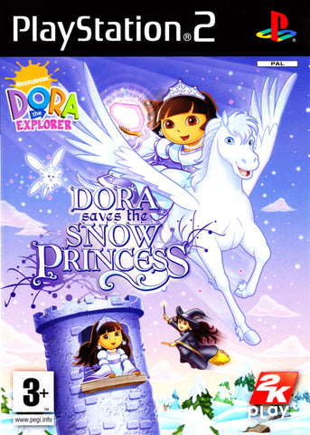 Dora Saves the Snow Princess - Playstation 2