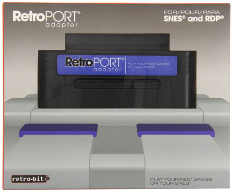 Retro Port Adapter - NES on SNES - Pre-Owned Accessory