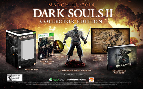 Dark Souls 2: Collector's Edition - Pre-Owned Xbox 360