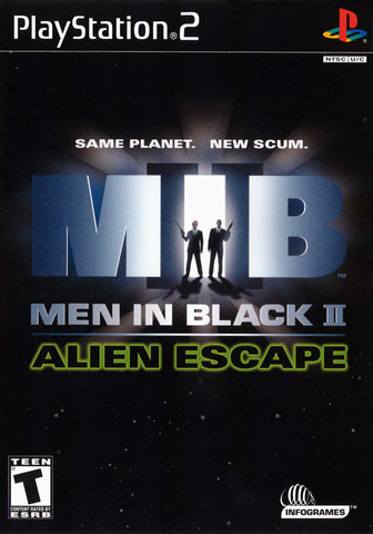 Men in Black 2: Alien Escape - Playstation 2
