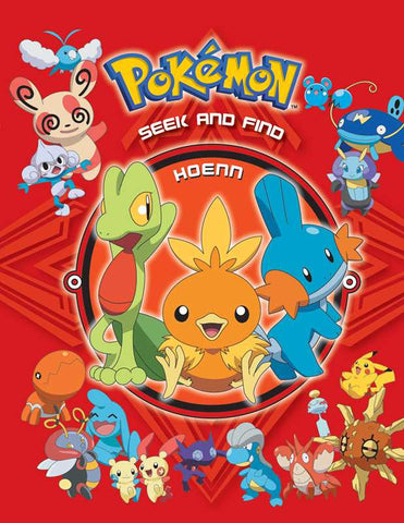 Pokemon: Seek and Find - Hoenn