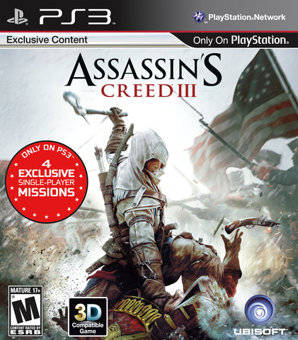 Assassin's Creed 3 - Pre-Owned Playstation 3