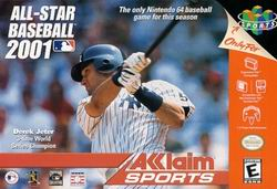All-Star Baseball 2001 - N64