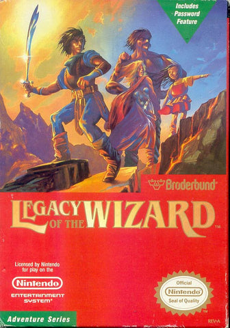 Legacy of the Wizard - NES