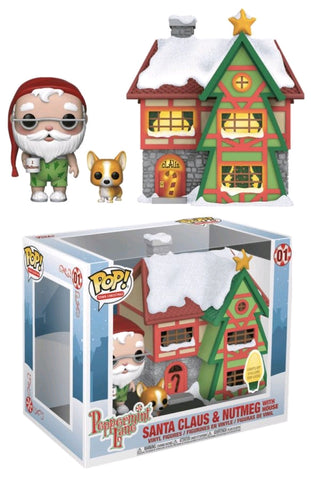 POP Town: Holiday - Santas House w/Santa & Nutmeg