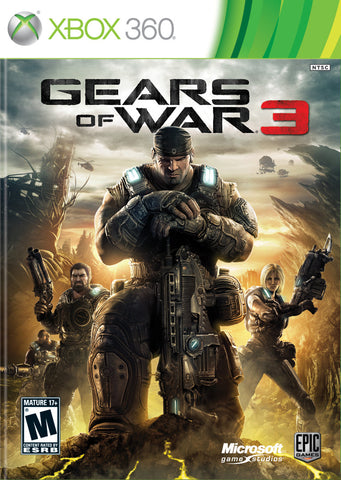 Gears of War 3 - Pre-Owned Xbox 360