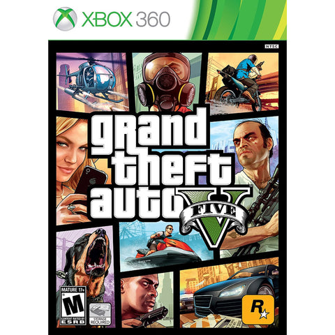 Grand Theft Auto V - Pre-Owned Xbox 360